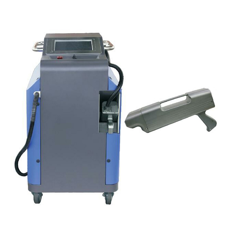New 200W LY Laser Non-contact Descaling Rust Removing Clearning Machine Metal Laser Derusting Machine