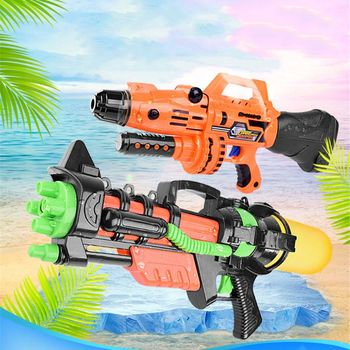 цена на New Summer Pool 1000ml Jumbo Blaster Water Gun Kids Toy Beach Squirt Pistol Spray Outdoor Toys