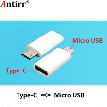 Converter Type-C Micro USB Male to Type C Female Android Phone Cable Adapter Digital Data Charger Converter Type-C Connector Connect For Huawei