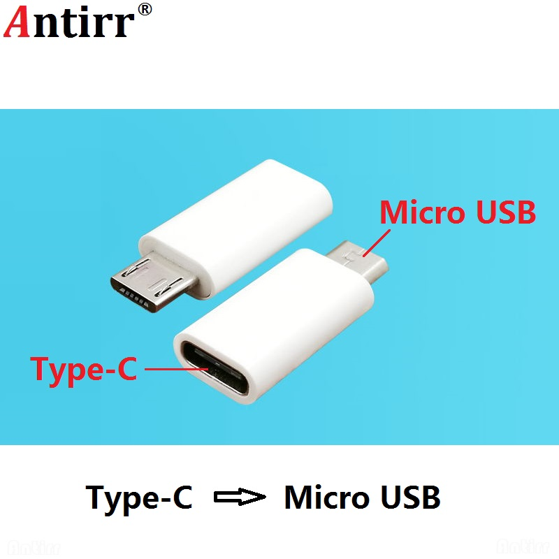 Micro USB Male to Type C Female Android Phone Cable Adapter Digital Data Charger Converter Type-C Connector Connect For Huawei