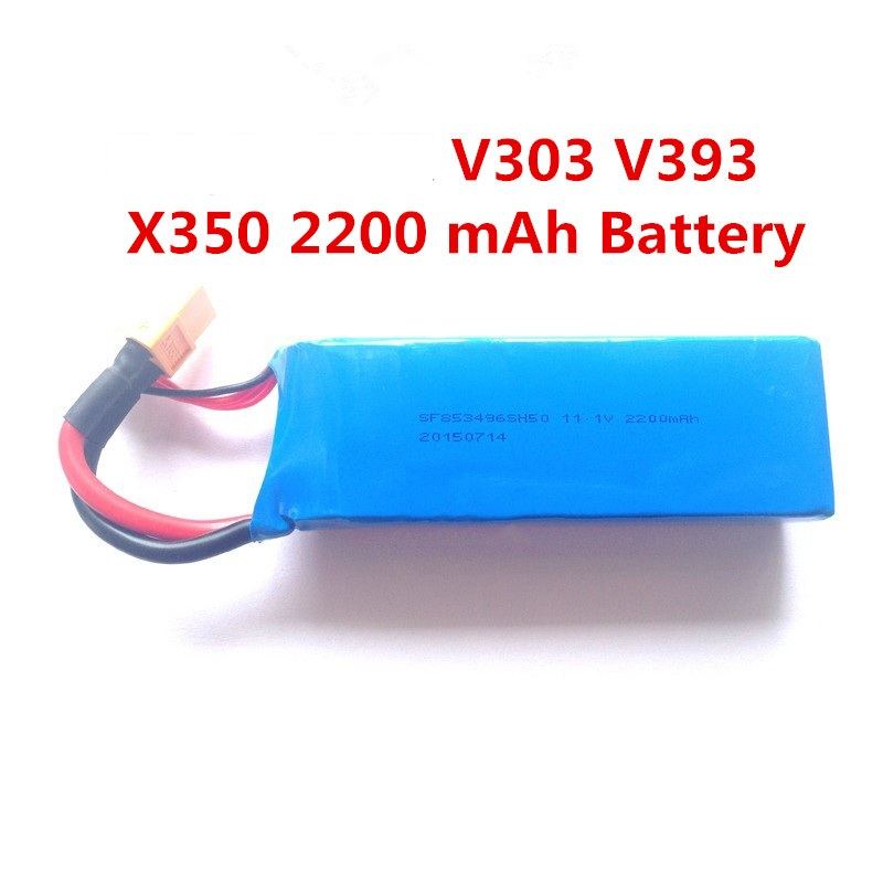 ФОТО  RC drone battery Spare Parts 111V 2200mAh for XK XKX350 V303 V393 X350 rc quadcopter