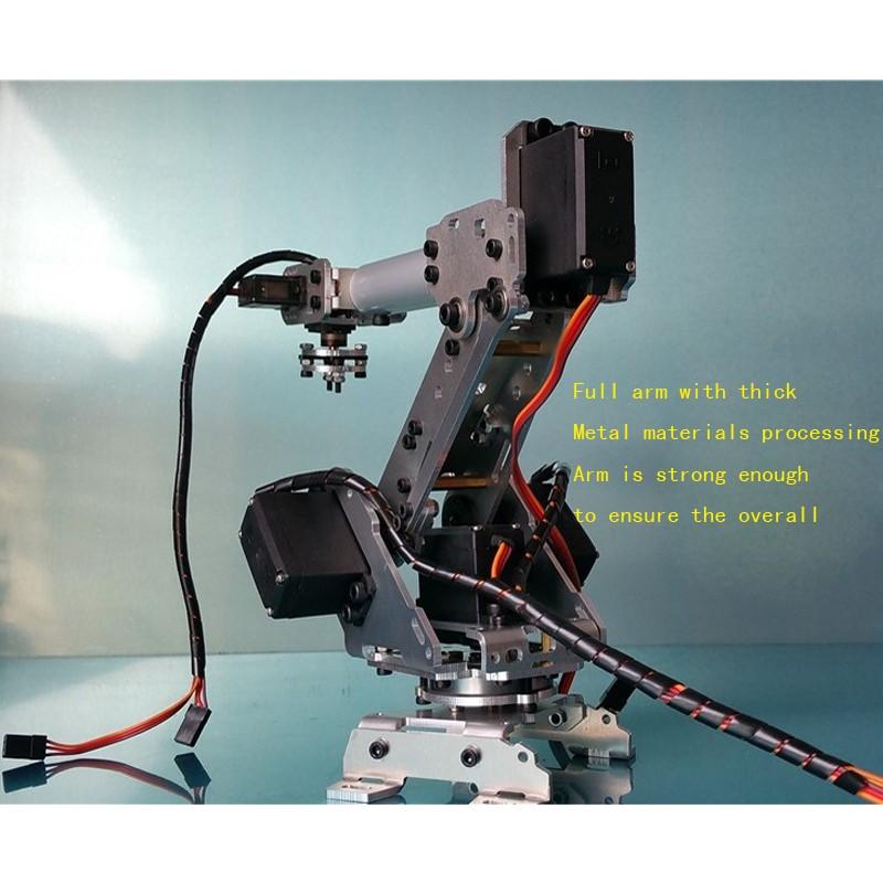 6 DOF CNC aluminum robotic arm (3)