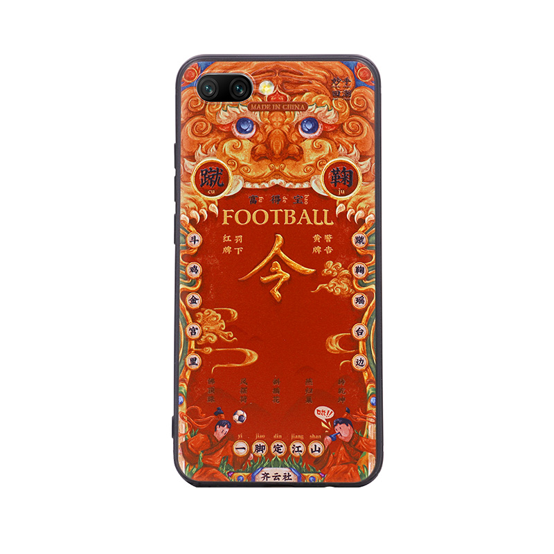 MSHC Special World Cup Red Card Painted Mobile Phone Case For Honor 10 New Design