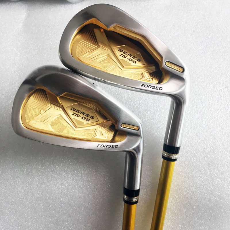 Cooyute New Golf Clubs HONMA S-03 4Star Golf Irons menetapkan 4-11.Aw.Sw IS-03 Grafit Golf aci irons Club headcover Percuma penghantaran