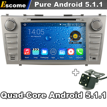8″ Car DVD GPS Navigation For Toyota Camry 2007-2011 Pure Android 5.1.1 Quad Core WiFi Radio Rear View Camera Bluetooth