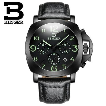 2017 New Arrival Binger Wrist Watches Men
