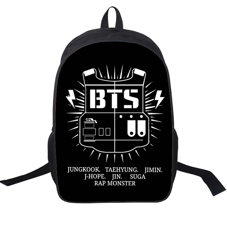 waterproof kpop punk kids backpack girls korean school ...