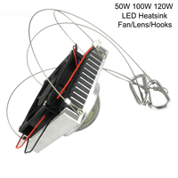 30w 50w 100w Diy High Power Led Aluminum Heatsink Aquarium Grow Led Radiator For Led Full