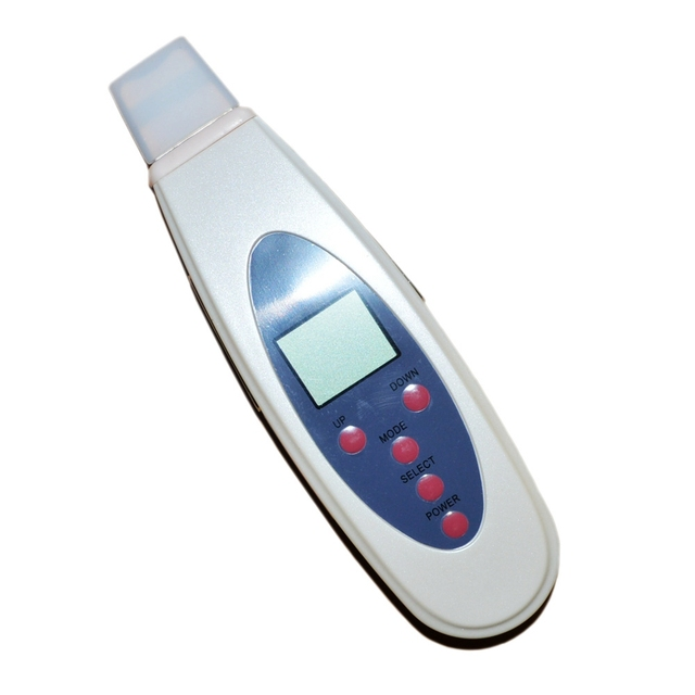 Deep Clean Face Exfoliator Home Use Instrument Ultrasonic Skin Scrubber Skin Peeling Portable skin cleaner beauty equipment