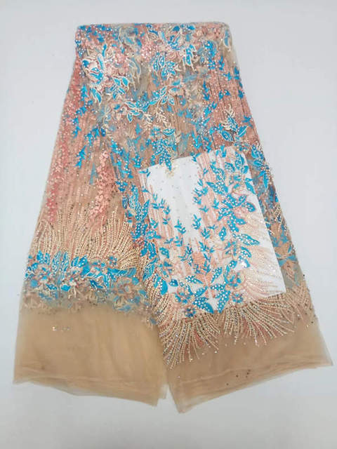 LS93!latest pattern African tulle lace with stones,top quality ...