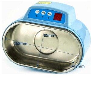 Image 4 - Heißer 35 W/60 W 220V Mini Ultraschall Reiniger Bad Für Cleanning Schmuck Uhr Gläser Platine limpiador ultrasonico Bad EU