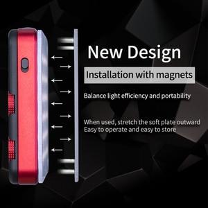 Image 3 - Iwata Gênio Pro GP 01 PRO 24 W 2600 K 6000 K Ajustável LED Luz de Preenchimento com Buit em bateria de lítio de Telefone Portátil CONDUZIU A Luz De Vídeo