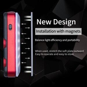 Image 3 - Iwata Genius Pro GP 01 PRO 24 W 2600 K 6000 K lumière de remplissage de LED réglable avec batterie au Lithium intégrée téléphone Portable LED lumière vidéo