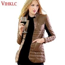 Повседневное ультралегкое пальто, женская зимняя куртка, женские куртки с длинным рукавом, тонкое пальто для отдыха, S-3XL, G447