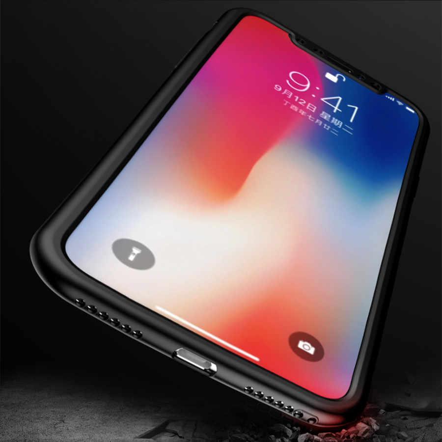 360 Full TPU Case For iPhone 7 Plus 5 5s SE 6s 6 8 X XR XS MAX Fundas Huawei P20 Mate 20 Lite Nova 3 Honor 10 Silicone Soft Case
