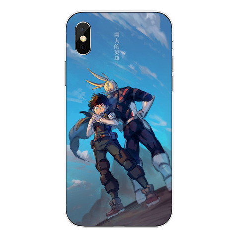 Anime My Hero Academia Soft TPU Phone Cases For iPhone 5 5S SE 6 6S Plus 7 7 Plus XR XS MAX 8 8 Plus X 10 Clear Silicone Cover Lahore