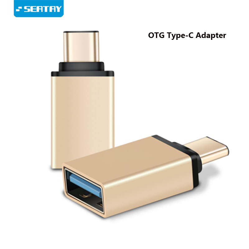 OTG Type C Adapter Male to USB3.0 Female adapter Type-C to USB Converter For Macbook Nexus Nokia N1 For Samsung S8 Plus blitzwolf® usb type c to micro usb adapter type c male to micro usb female convert connector for nexus 5x 6p oneplus 2 nokia n1 xiaomi 4c zuk z1