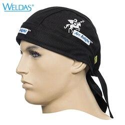 Arc Knight doo rag spawacz kapelusze zmywalny ognioodporny kask łuk rycerz FR szalik spawalniczy|Kask ochronny|Bezpieczeństwo i ochrona -