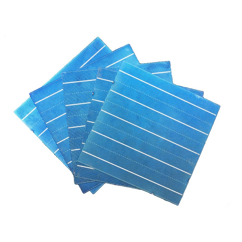 Image 4 - 40PCS 4.5W 6x6 Photovoltaic Polycrystalline 5BB Solar Cells  For home DIY Solar Panel solar charger-in Solar Cells from Consumer Electronics
