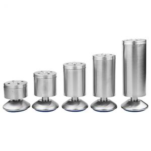 Image 1 - 4Pcs Stainless Steel 50*60/50*80/50*100/50*120/50*150mm Height Sofa Leg Furniture Parts Bed/tv Cabinet Feet