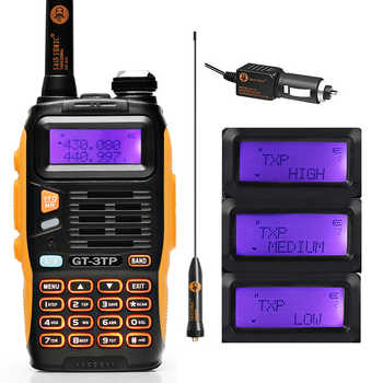 Baofeng GT-3TP MarkIII TP 1/4/8Watt High Power Dual-Band 136-174/400-520MHz Ham Two-way Radio Walkie Talkie with Car Charger - SALE ITEM Cellphones & Telecommunications