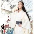 Стандартный Hanfu стиль хорошее качество сделанных Хлопка Белье Шифона Китайских боевых искусств классический фильм Костюм Фея Экипировка