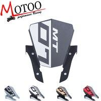 Motoo For Yamaha MT 07 MT07 FZ07 FZ 07 MT 07 2013 2015 Motorcycle Motorbike Windshield