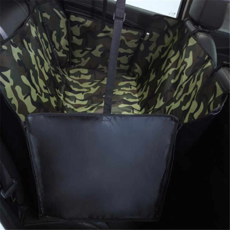 Pet Carrier Oxford Waterproof Dog Car Seat Back Seat Cover Hammock For Dogs Pets Travel Transporter Print Pattern Mat For Dogs