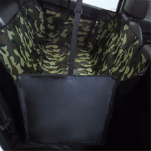 Pet Carrier Oxford Waterproof Dog Car Seat Back Seat Cover Hammock For Dogs Pets Travel Transporter Print Pattern Mat For Dogs footprints pattern dog carrier waterproof rear back dogs car seat cushion for outdoor dogs cats car seat mat pet products