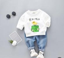 Cartoon Animal Baby Clothes Set 2019 Spring Girl Two-piece Child for 1 2 3 4 Years SY-F191226