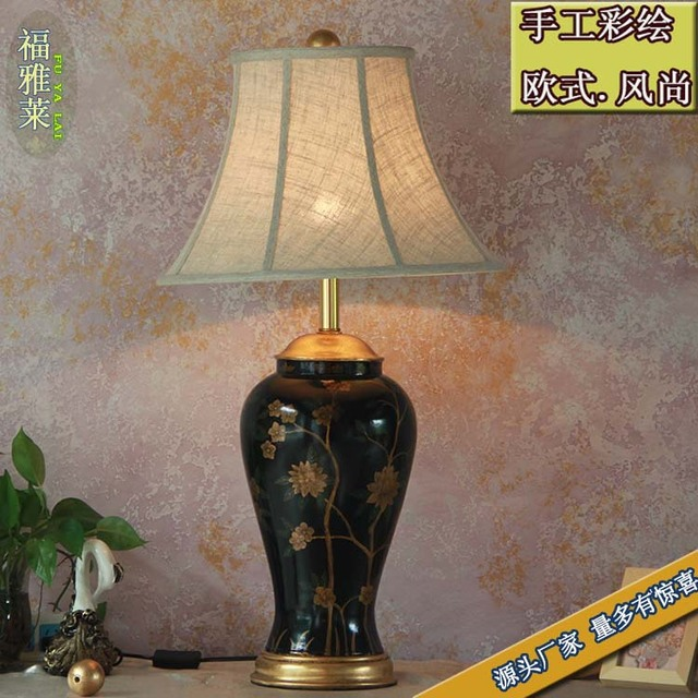 Tuda 75x25cm free shipping chinese style resin table lamp classical tuda 75x25cm free shipping chinese style resin table lamp classical creative design table lamp home furnishing aloadofball Images