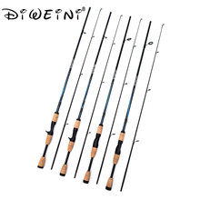 2 Sec 1.8m Spinning Fishing Rod 7″ M actions 6-12g Lure Weight,6-12LB Line Weight Casting Lure Fishing Rod Spinning Pole
