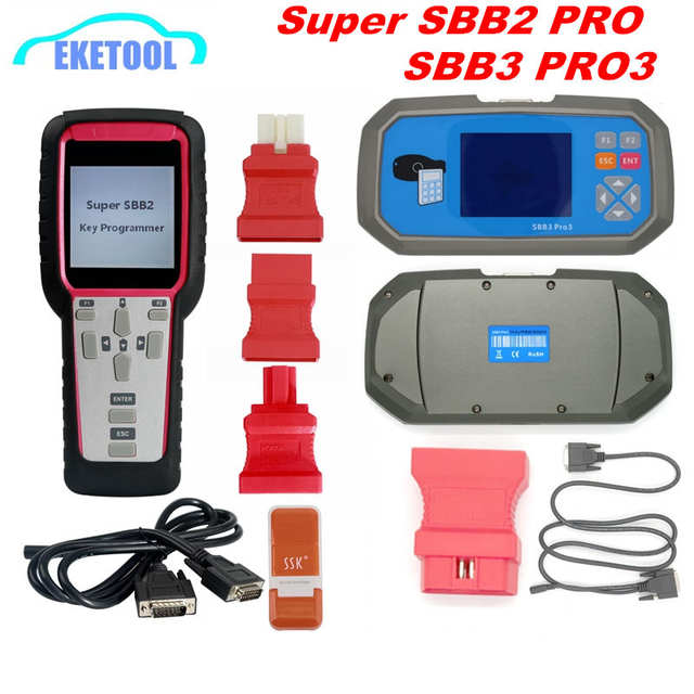 US $145 0  2019 SBB2 Key Programmer SBB3 PRO3 Handheld Scanner Powerful  Function Than Old SBB/CK100 Supports Multi Brand Cars SBB2 Super-in Auto  Key