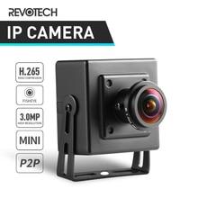 H.265 Fisheye HD 3MP מיני סוג IP מצלמה 1296 P/1080 P מקורה אבטחת מתכת ONVIF P2P IP CCTV מצלמת וידאו מעקב מערכת