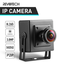 H.265 Mắt Cá HD 3MP Mini Loại Camera Ip 1296 P/1080 P Trong Nhà An Ninh Kim Loại ONVIF P2P IP Camera Quan Sát cam Video Giám Sát Hệ Thống