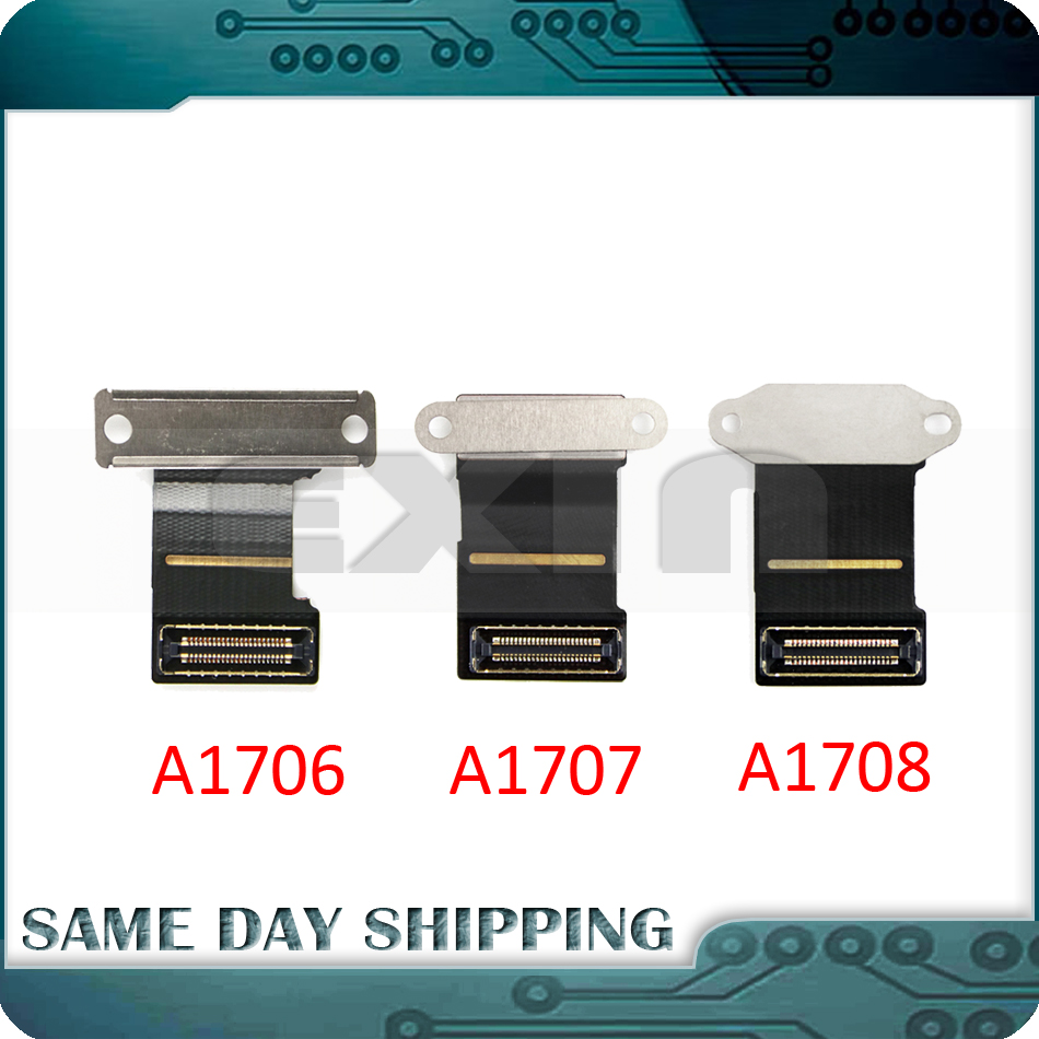 New Original Laptop A1706 A1708 A1708 LCD LED LVDs Screen Display Flex Cable for Macbook Pro Retina 13 2016 2017 Year original new a1708 lcd assembly for macbook pro retina 13 a1708 full lcd panel display assembly 2016 2017 year emc2978 emc3164