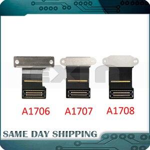 Novo portátil original a1706 a1708 a1708 lcd led lvds display tela cabo flexível para macbook pro retina 13