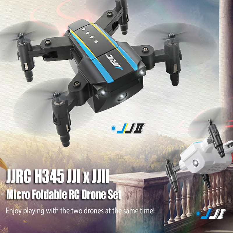 JJRC H345 Quadrocopter Mini Altitute Hold Drone Quadcopter RC Helicopter 6 Axis Foldable Remote Control Helicopter 2 Pcs Drons