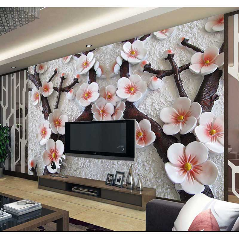 Hd custom wall mural modern art painting high quality for Art mural wallpaper