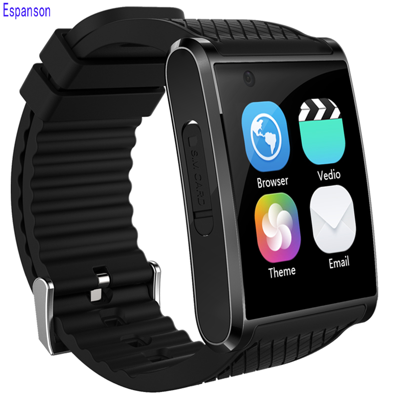 Espanson X11 Smart Watch 3G WiFi GPS Bluetooth 4.0 Sport Wristwatch Phone Dial Call SOS Fitness For iOS Android SAMSUNG Huawei espanson dm98 smart watch 3g android 5 1 wifi gps 1 2ghz bluetooth 4 0 sport wristwatch phone dial call hd camera clock fitness
