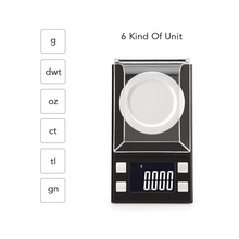 50×0.001g Mini LCD Pocket Scale Digital Jewelry Weight Scale with Tweezer+Weighing Pans Hot Sale