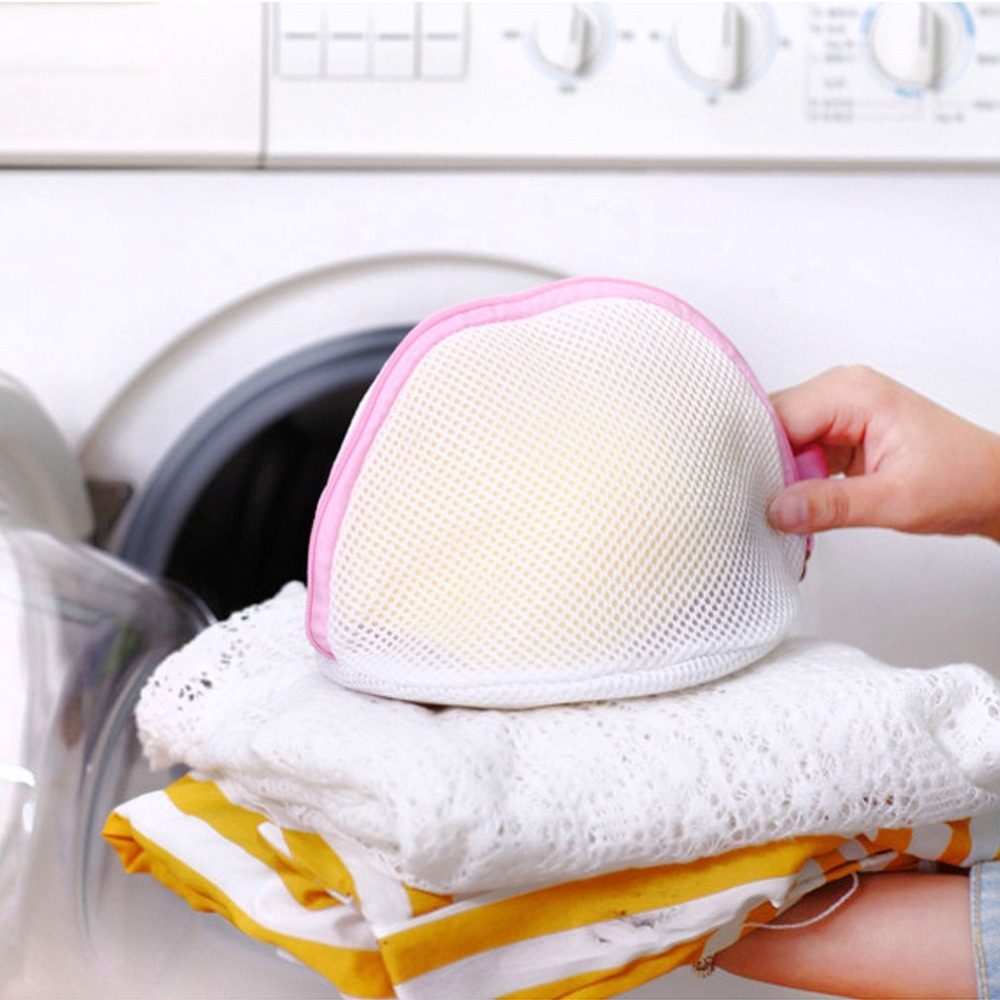 1Pc Superior quality Laundry Mesh Net Bag Lingerie Bra Underwear Delicate Clothes Socks Washing Zippered Stylish fashion
