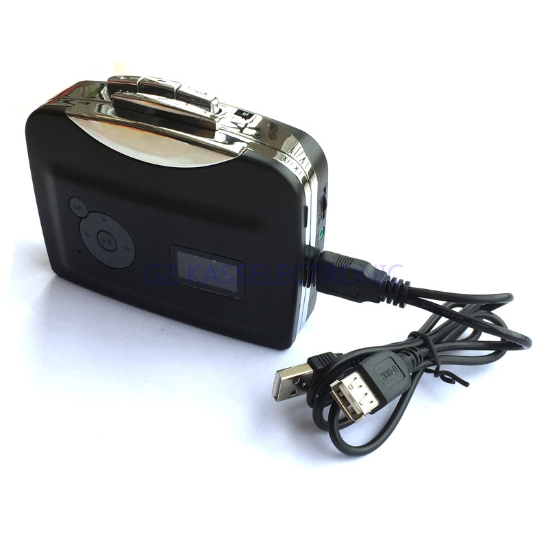 2017 new ezcap230 cassette tape to mp3 converter in U driver directly, no pc required auto reverse headphones free shipping