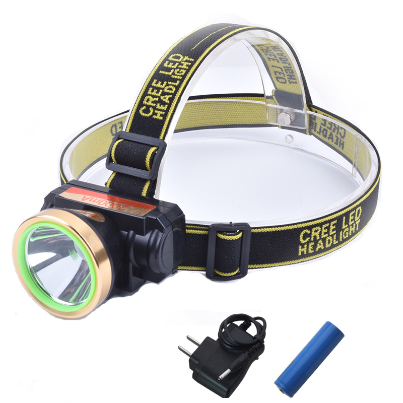 5W Rechargeable Headlamp High Power LED Headlight Strong Light Ultralight 18650 Battery Waterproof Headlamp For Camp Hunting