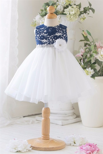 Patchwork Floral Baby Girl Lace Dress