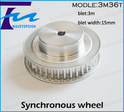 цена на Synchronous wheel 3M36T   Pulley HTD3M36T tooth  36  Pitch 3 mm  hole diameter 8mm 10mm 12mm belt width 15mm