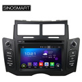 SINOSMART 4 Core 1.6 GHz CPU 6.2'' Android 5.1 Car Audio GPS Navigation Player for Toyota Yaris 2005-2011 HD Screen No Canbus