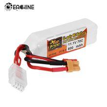 ZOP Power 11.1V 600mAh 70C 3S Rechargeable Lipo Battery JST XT30 Plug for Eachine Lizard95