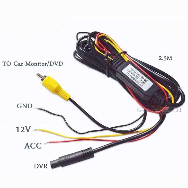Автомобильный мини-видеорегистратор, видеорегистратор, видео AV, RCA вход, ночное видение, HD 1920 P, фронтальная камера с тахографом, безопасная ...