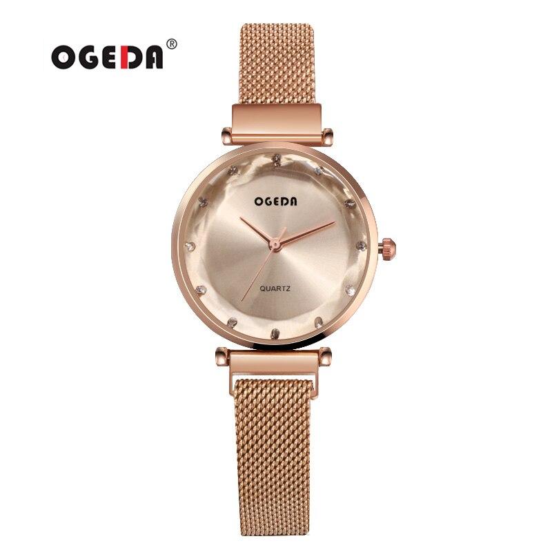 2019 ผู้หญิงนาฬิกาแฟชั่น Casual นาฬิกาเจนีวาสุภาพสตรีนาฬิกาแบรนด์หรูเพชรควอตซ์นาฬิกาข้อมือสำหรับสตรี-ใน นาฬิกาข้อมือสตรี จาก นาฬิกาข้อมือ บน   1